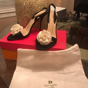 Kate Spade Lucia Satan Flow. Black Fair Condition.